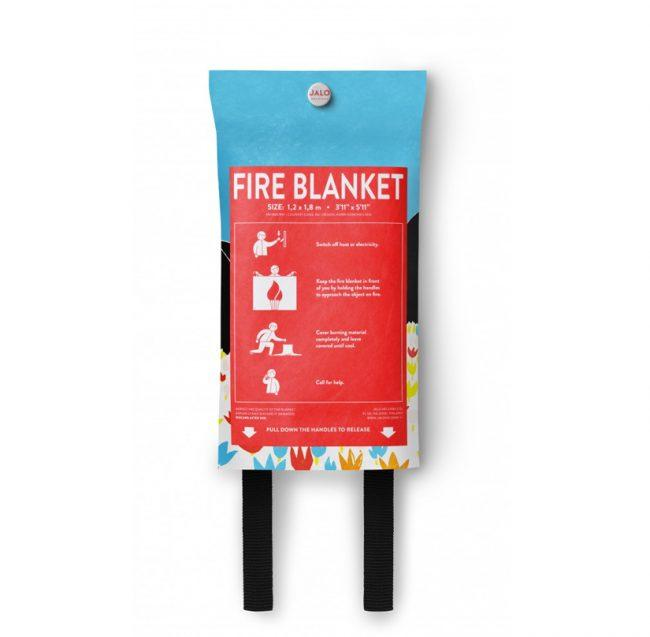 Momin Spring fire blanket backside