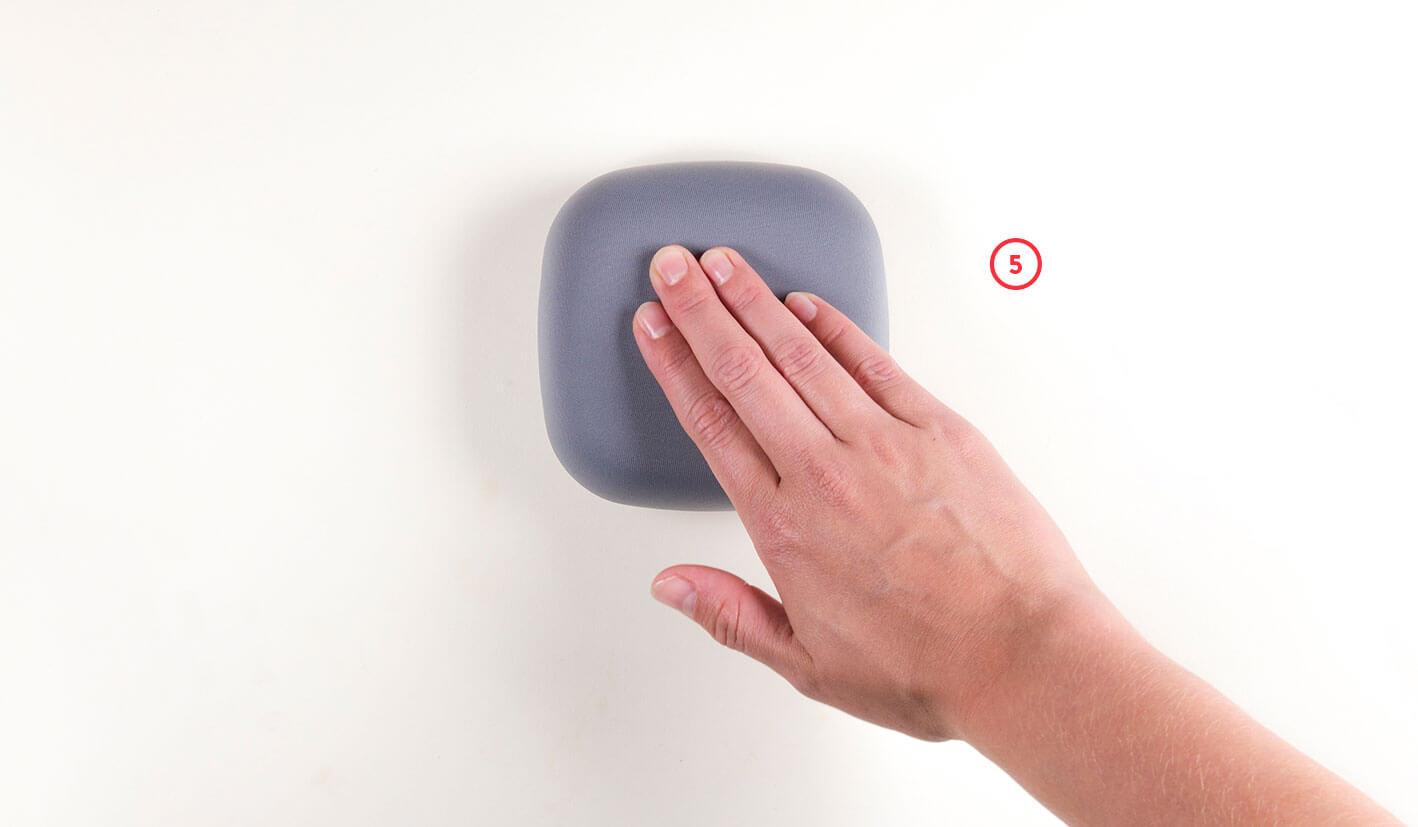 Test your smoke alarm by pressing