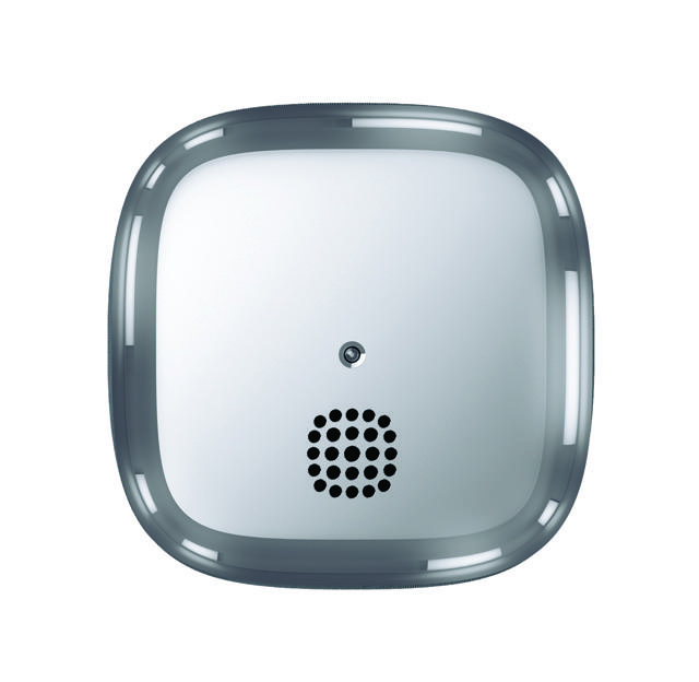 Jalo Helsinki chrome smoke alarm 10 fire safety